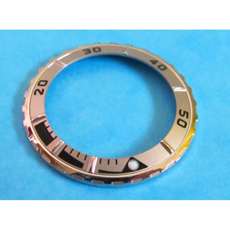 Tudor Oyster Hydronaut 85190 Prince Mid Sized Date Grey & Steel Watch Bezel Insert