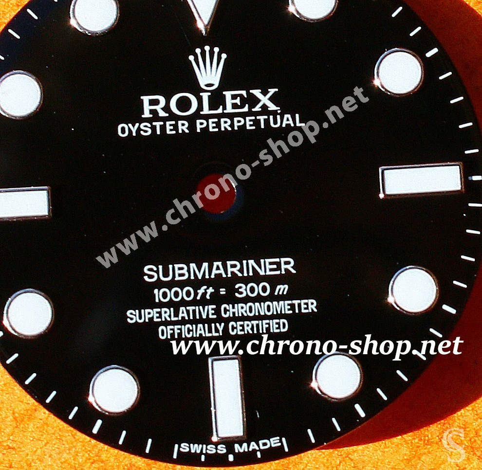 Rare Rolex Watch Glossy dial Submariner CHROMALIGHT 114060 Cal 3130 for sale