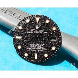 Rolex Exotic Mat 16800 dial Submariner date 16800, 168000, 16610 Index Tritium cal 3035, 3135
