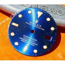 RARE SINGER ROLEX SUBMARINER DATE BLUE REFLECTS DIAL 16613 / 16618 / 16803 / 16808 CAL.3035 / 3135