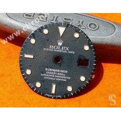 Rolex Faded, Patined 16800 dial Submariner date 16800, 168000, 16610 Circled Index Tritium cal 3035, 3135