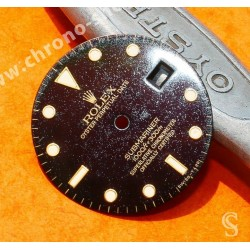 ROLEX RARE SUBMARINER DATE TROPICAL GILT EXOTIC WATCH DIAL PART 16808, 16803, 16613, 16618