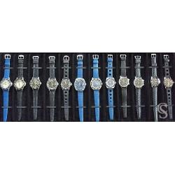 Genuine 70's 19mm Tropic Swiss dive watch strap bracelet curved ends NOS 1960s/70s Rolex, Tudor, omega, IWC, Triton