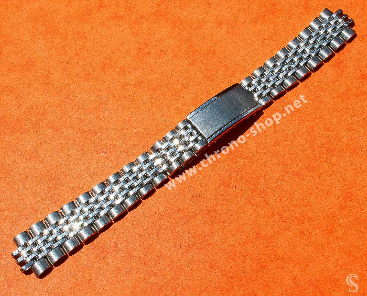 Accessories Watch Vintage Rare 60's Bracelet Beads of Rice beads Steel Luxurious Watches Omega, Tag Heuer, Rolex, Seiko