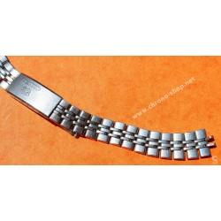 Accessoire Montres horlogerie Vintage Rare 60's Bracelet MidSize Grains de Riz acier Montres Luxes Omega, Heuer, Rolex
