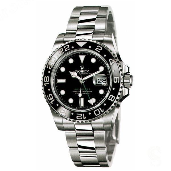 ♛ ♛ Rare Original Rolex 116710 GMT master II stainless steel ceramic bezel ♛ ♛