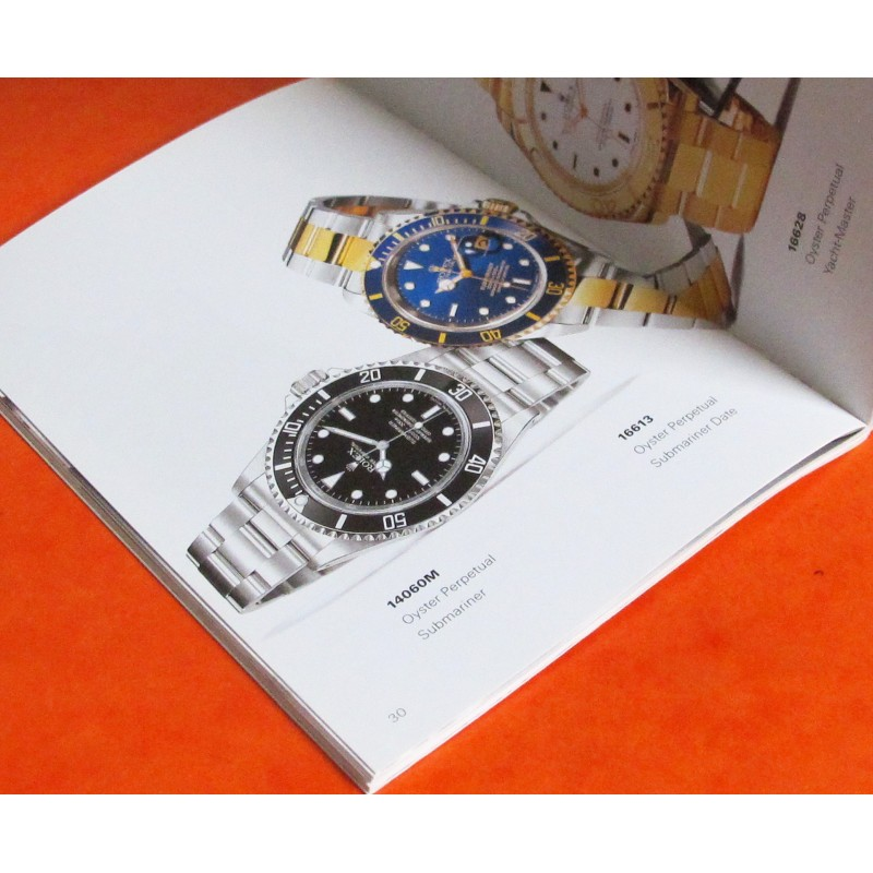 ROLEX COLLECTIBLE OYSTER PERPETUAL CATALOG - 2007 ALL SPORTS MODELS BOOKLET