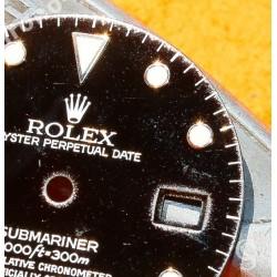 Rolex Factory Glossy Black watch dial 16800, 168000, 16610 Submariner date Black Index Tritium cal 3035, 3135