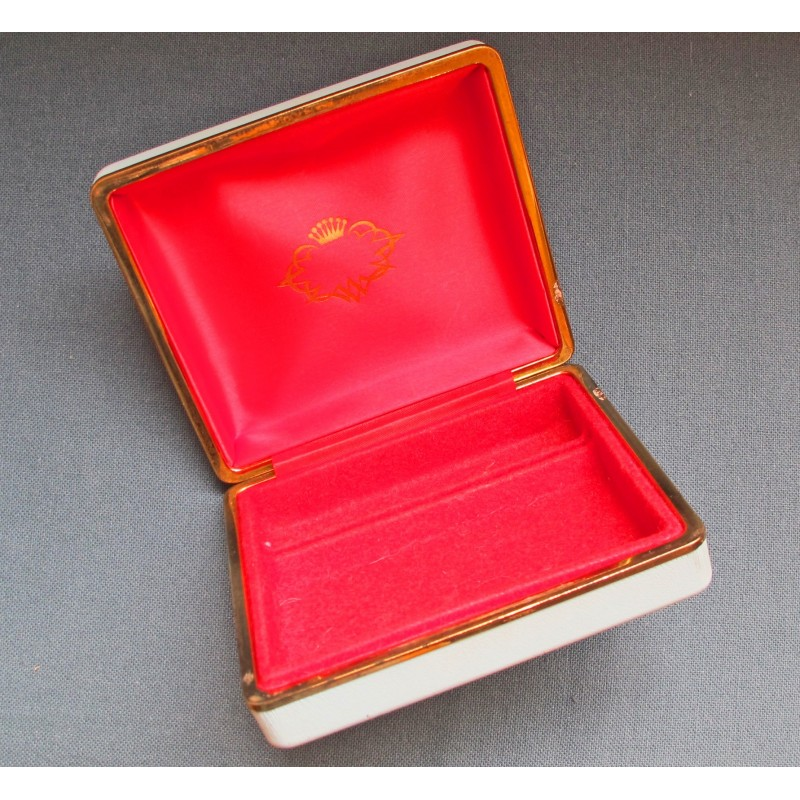 Rare Vintage ROLEX Watch BOX from 30-40's Bubbleback, oyster, chronograph