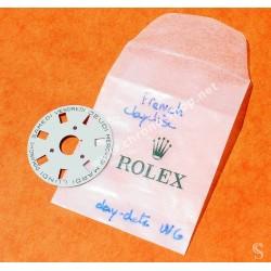ROLEX DISQUE JOURS FRANCAIS COULEUR BLANC CAL 3055, 5055 ref 5135-203 MONTRES DAY DATE PRESIDENT
